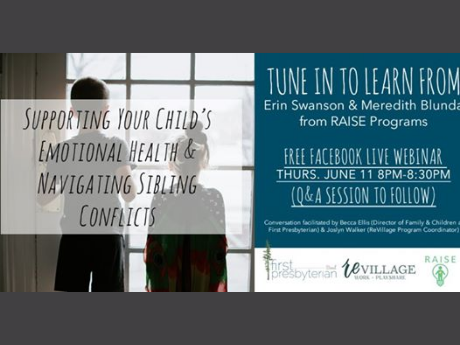 Supporting Emotional Health & Navigating Sibling Conflict